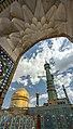 Dome of Fatima Masumeh Shrine, Qom, Iran2.jpg