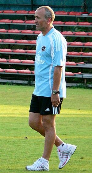 Dominic Kinnear - Coaching Houston in 2008