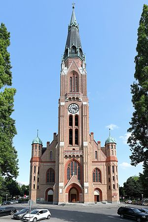 Floridsdorf - Donaufeld parish church.