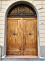Door with doorknobs in Reggio Emilia, Italy.jpg