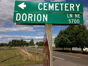 Marie Aioe Dorion - Dorion Lane in St. Louis, Oregon