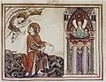 Douce Apocalypse - Bodleian Ms180 - p.005 Letter to Smyrna.jpg