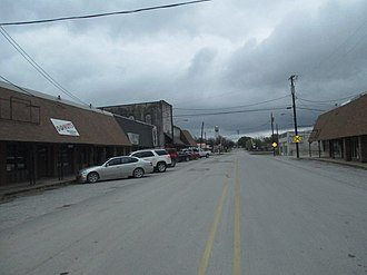 Alvord, Texas - Downtown Alvord