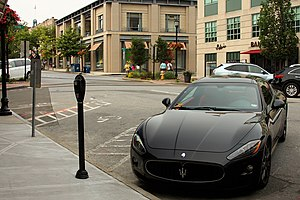 Greenwich, Connecticut - Downtown Street Scene
