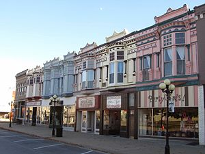 Iola, Kansas - Image: Downtown Iola, KS