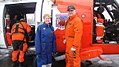 Dr. Jane Lubchenco and the Commandant on the tarmac at Shismareff, AK (3832933816).jpg