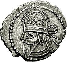 Drachme van Artabanus IV (2), Hamadan mint.jpg