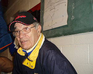 Dragoslav Šekularac - Šekularac as coach of Serbian White Eagles in 2006