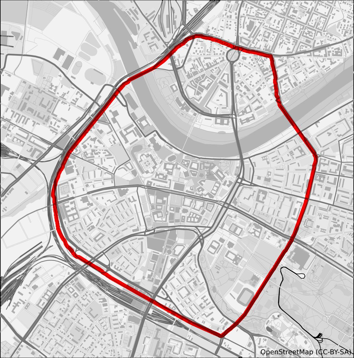 dresden umweltzone karte 26er Ring – Wikipedia