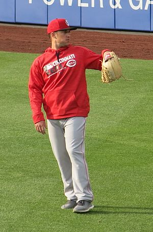 Drew Hayes (baseball) - Hayes with the Reds in 2016