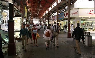 Dubai Gold Souk - Dubai Gold Souk has narrow lanes that are lined with hundreds of jewellery stores.