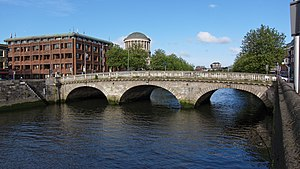 Dublin - Father Mathew Bridge (also known as Dublin Bridge).