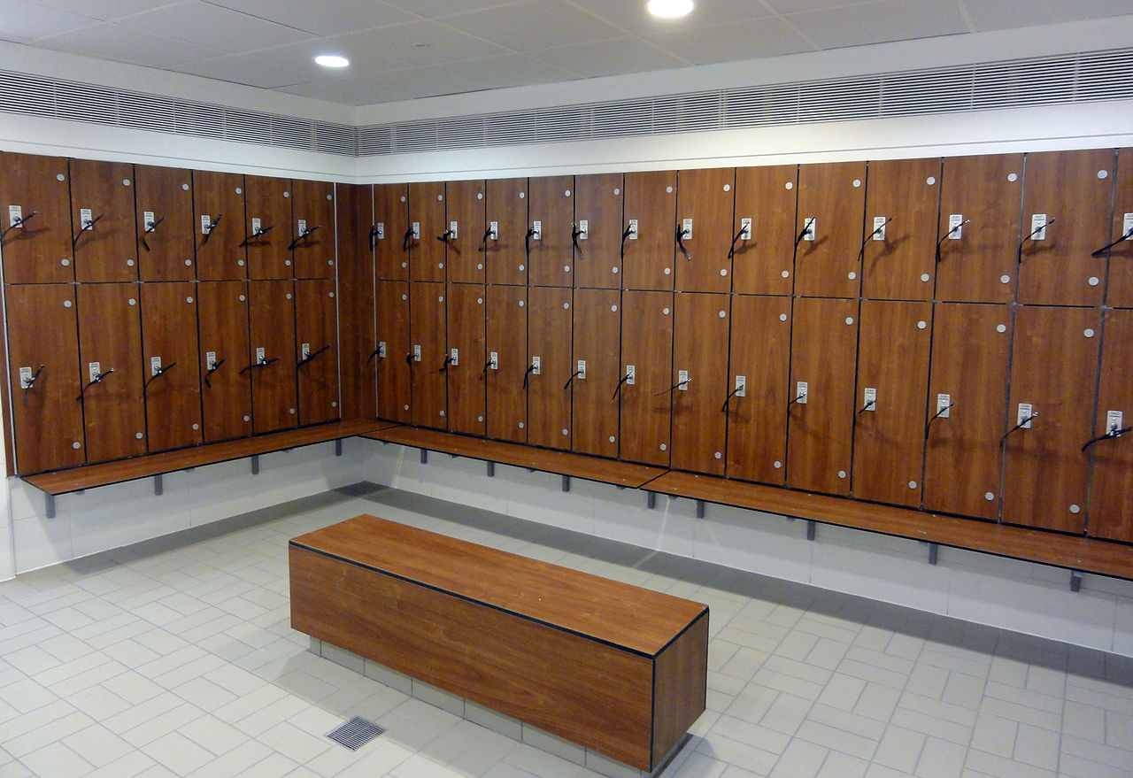 Leisure Centre Changing Rooms