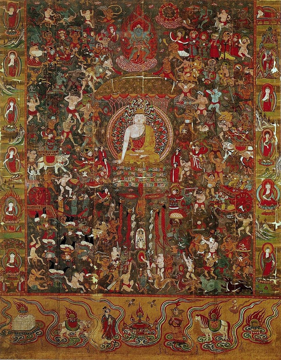 Dunhuang Mara Budda
