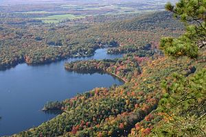 Addison County, Vermont - Lake Dunmore is located in Salisbury and Leicester, entirely within Addison County.