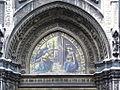 Duomo Ghirlandaio Annunciation closeup.jpg