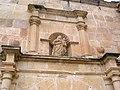 Duruelo statue over door.jpg