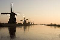 Dutch Windmills at Sunset.jpg