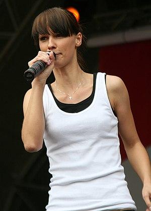 Christina Stürmer - Euro 2008 concert