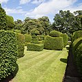 Earlshall Castle walled garden, with topiary.jpg