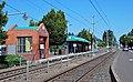 East 122nd Ave MAX station, westbound platform.jpg