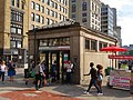 Eastbound headhouse at Park Street station, July 2019.JPG