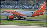 EasyJet Airbus A319-111 (G-EZFO) at Manchester Airport.jpg