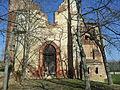 Eaunes-abbaye La Clarté-Dieu-entrée Sud.jpg