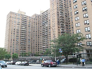 Ebbets Field - Ebbets Field Apartments in 2008