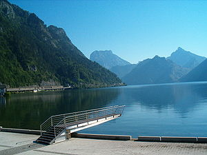 Ebensee - View of the Traunsee