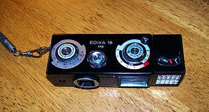 Subminiature photography - Edixa 16MB black camera