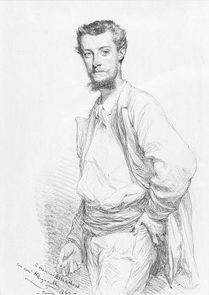 Édouard-Théophile Blanchard - Edouard-Théophile Blanchard (Henri Regnault, 1869)