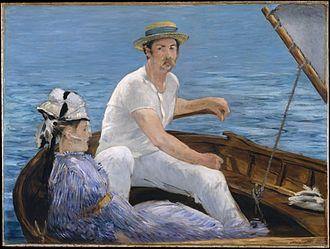 The Boating Party - Boating, 1874, Edouard Manet