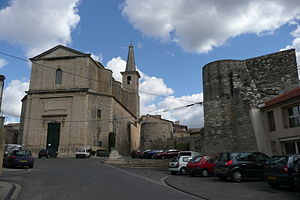Caumont-sur-Durance - The church of Caumont-sur-Durance