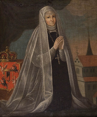 Elizabeth Granowska - Anonymous painting from 1779