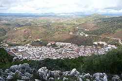 El Gastor from Algarín mountain