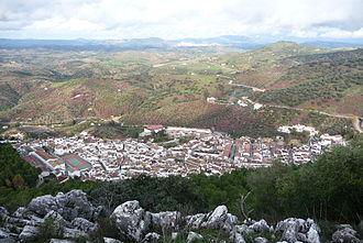 El Gastor - El Gastor from Algarín mountain