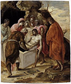 The Entombment of Christ (El Greco) - Image: El Greco 03