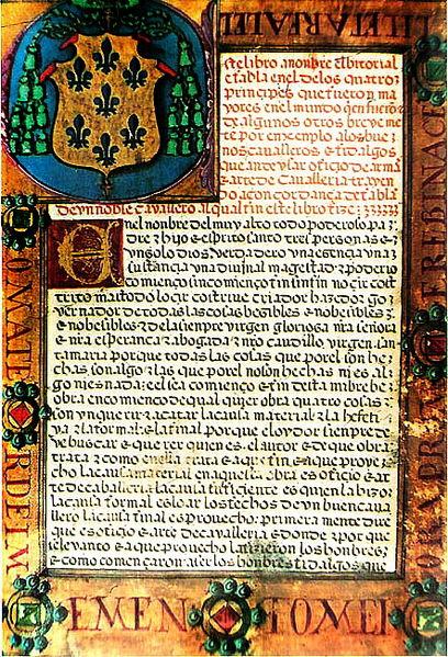 La fascinante Edad Media. - Página 5 408px-El_Victorial