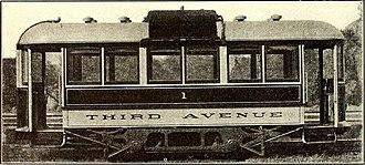 Third Avenue Railway - 1909 3rd Avenue Gasoline-Electric streetcar.