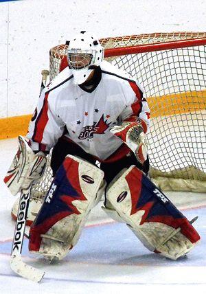 Elora Rocks - Rocks goalie during 2014-15 season.