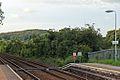 End of platform, Cefn-y-bedd railway station (geograph 4025087).jpg