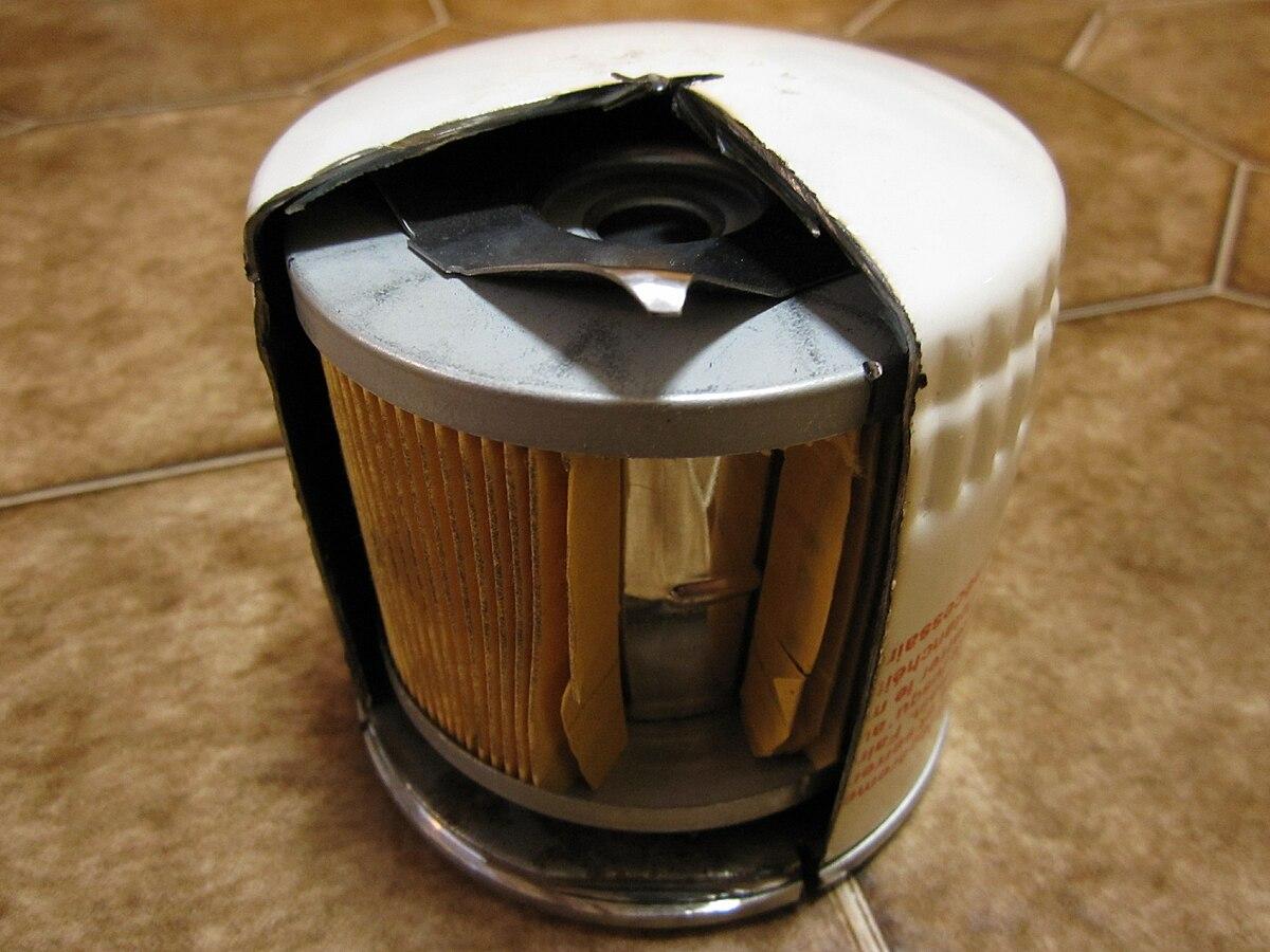 Oil Filter For A Suzuki Rm