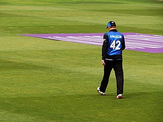 Brendon McCullum - McCullum playing in an ODI against England in 2015