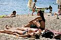 "Enjoying the Sun at Zlatni Rat ""Golden Cape"".jpg"
