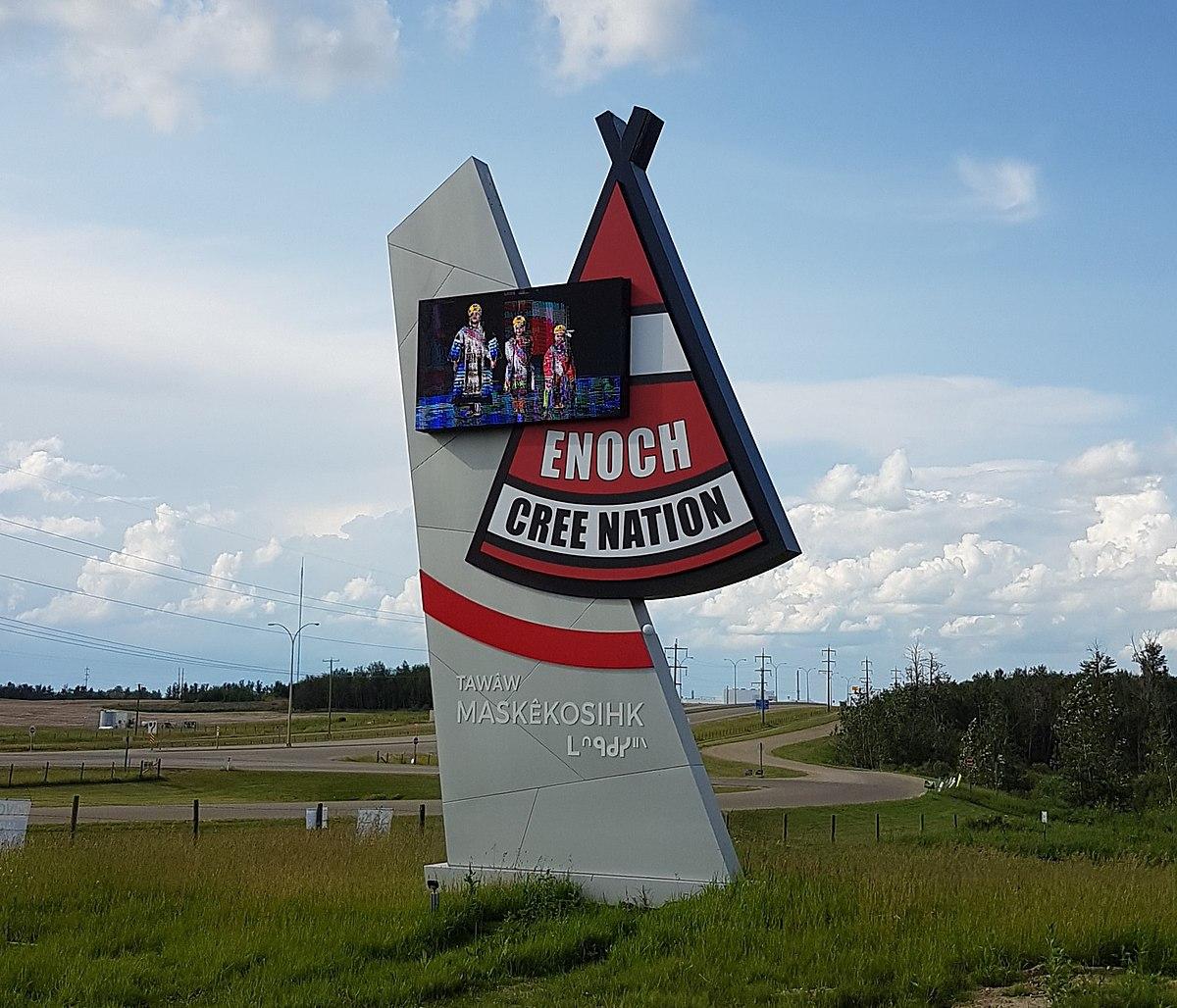 Where Is Enoch Alberta