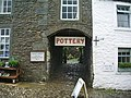Entrance to the pottery on Main Street - geograph.org.uk - 929042.jpg
