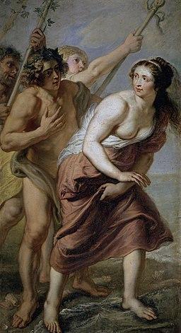 Erasmus Quellinus (II)- Baco y Ariadna, 1630