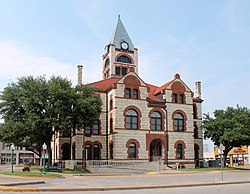 The Erath County Courthouse in Stephenville
