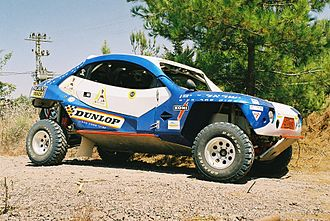 "Off-road racing - ""Erez Raider"", Israeli T1 4x2 Rally Raid champion (2006)"